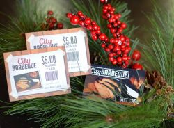 City Barbeque Holiday Gift Specials!